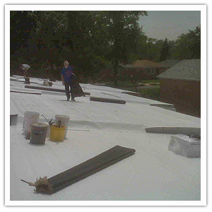 Tpo Roof Installation Industrial Roofing Duro Last