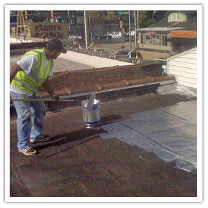 Commercial Roof Repairs Hot Tar Roofing Tpo Roofing